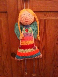 Crochet angel.  Funky Po