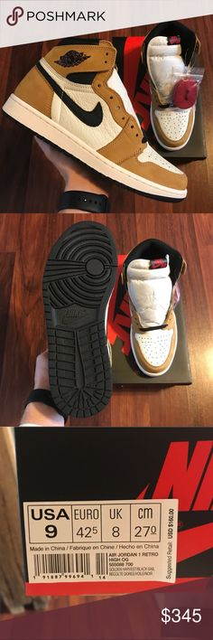 Deadstock Nike Jordan 1  Rookie of the Year  These are sweet and hyped shoes 21cfe5dae266