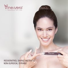 Vine Vera Resveratrol Shiraz Instentic Non-Surgical Syringe