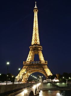 The 10 Most Instagrammed Tourist Attractions in the World - THE EIFFEL TOWER, PARIS from InStyle.com