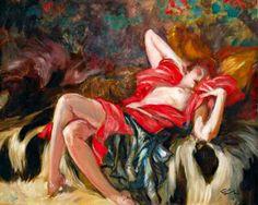 Jean-Gabriel Domergue francia művész ... | Bear Tales