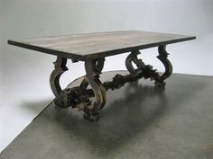 Spanish dining table #dining #table