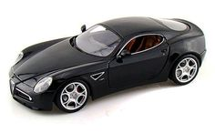 Alfa Romeo 8C Competizione - 1/18 Scale Diecast Collectible Model Toy Car - Openable hood & doors. - Individually Packed in a Window Box - Italian Design. The Alfa Romeo 8C Competizione is manufacture