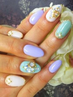 Like the design if not the nail shape
