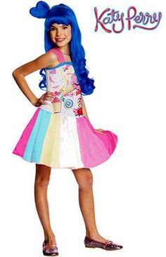 Child Katy Perry Costumes Candy Girl Costume