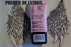 2. Prebase de Catrice: Como siempre aplico una capa de prebase que fija el maquillaje y consigo que se mantenga más tiempo, aunque dentro de poco dejaré de usar base y prebase debido al calor.
