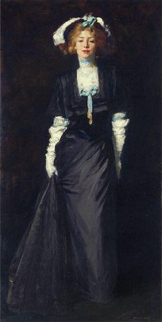 Favorite, favorite, favorite. Jessica Penn in Black with White Plumes