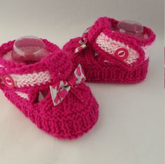 A personal favorite from my Etsy shop https://www.etsy.com/listing/260235944/red-brights-baby-booties-baby-shoes-baby