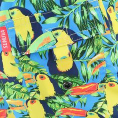 These Swim Shorts have exotic colours of the majestic toucan that come to life in this super-stylish quick-dry design.