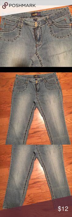 Angels Size 16 Flare Leg Denim Jeans Angels Size 16 Flare Leg Denim Jeans. Button missing of the left back pocket Angels Jeans Flare & Wide Leg