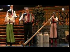 Melanie Oesch yodels, Lisa Stoll plays the Alpine Horn, great medley of songs.