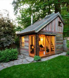 Une toute petite maison