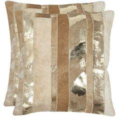 Safavieh Peyton 18-inch Square Throw Pillows