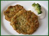 brokolicovo-chlebové placičky ... s dipem 4 PL lučiny + 2 PL bílého jogurtu + 1 stroužek česneku
