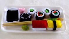 Sushi platter R150 Sushi Platter, Japanese, Toys, Ethnic Recipes, Handmade, Sushi Plate, Activity Toys, Hand Made, Japanese Language