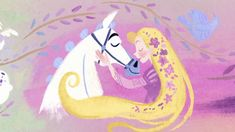 Rapunzel grapples with the responsibilities of being a princess and the overprotective ways of her father. Cute Disney, Rapunzel, Disney Drawings, Disney Love, Disney Rapunzel, Disney Wallpaper, Disney And Dreamworks, Tangle Art, Disney Animation