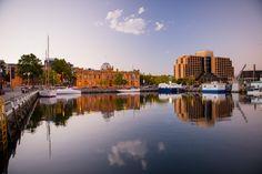 Downtown Hobart, Australia