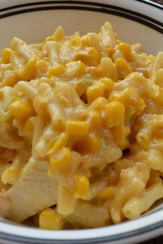 Aug 27 Here's a creamy slightly sweet corn casserole that's made with macaroni. The macaroni cooks in the corn j. Sweet Corn Casserole, Macaroni Casserole, Casserole Recipes, Hamburger Casserole, Chicken Casserole, Corn Recipes, Side Dish Recipes, Dinner Recipes, Kraft Recipes
