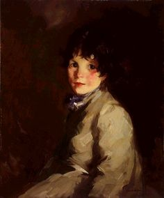 """Catharine Robert Henri (American, Oil on canvas. Henri could have been describing this portrait when he wrote, """"the reason that a certain color in life, like the red in a. American Realism, American Art, Ashcan School, Robert Henri, Poster Size Prints, Art Prints, Paintings I Love, Portrait Paintings, Portrait Art"""
