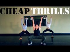 The Fitness Marshall Sia Cheap Thrills Cardio Hip-Hop Video Dance Workout Videos, Zumba Videos, Hip Hop Videos, Dance Videos, Exercise Videos, Hip Hop Youtube, Fitness Tips, Fitness Motivation, Zumba Routines