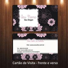 Arte Cartão de Visita - cód-08-15