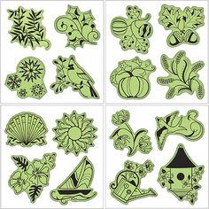 Inkadinkado - Stamping Gear Collection - Inkadinkaclings - Rubber Stamps - Seasonal at Scrapbook.com