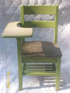 Full Size Wood Student Desk Eden Vintage by MountainTopCrafters