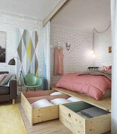 Die 73 Besten Bilder Von Kleine Raume In 2019 Apartment Design