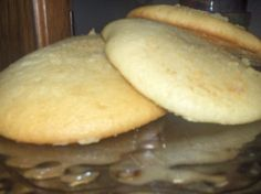 Everyone Ive ever made these cookies for describes them as very similar to tea cakes; they are very fluffy with a unique flavor. The recipe was given to me by a close friend of my great-aunt Jackie. They are YUM YUM good!!