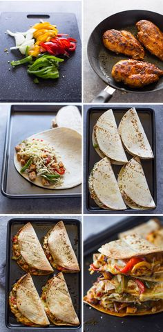 Crispy Baked Chicken Fajita Quesadillas Lifestyles, lifestyles and quality of life The interdependencies and networks developed by the interior integrity … Baked Chicken Fajitas, Crispy Baked Chicken, Chicken Fajita Tacos Recipe, Chicken Quesadilla Seasoning, Baked Chicken Meals, Baked Quesadilla, Fajita Quesadilla, Chicken Quesadillas, Healthy Meal Prep