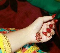 Simple and Beautiful pattern Khafif Mehndi Design, Eid Mehndi Designs, Modern Mehndi Designs, Mehndi Designs For Girls, Beautiful Mehndi Design, Mehndi Images, Henna Mehndi, Hand Henna, Mehendi