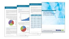 B2B Marketing Automation Platforms: A Marketers Guide updated for 2016