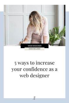 Do you ever find yourself doubting your abilities as a web designer? Maybe you secretly dread consultation calls in case the client asks for something you don't know how to do, or maybe looking at the competition has you feeling left behind, and less-than-enough. If you're currently struggling with your confidence as a designer, then this video/post is for you! #webdesign #squarespacedesigner #webdeisgnbusiness #squarespace Simple Website Design, Beautiful Website Design, Website Design Inspiration, Business Advice, Blogging For Beginners, Business Design, Competition, Confidence, Web Design