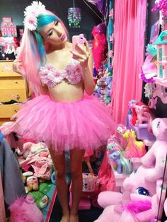 My little pony/cotton candy theme outfit