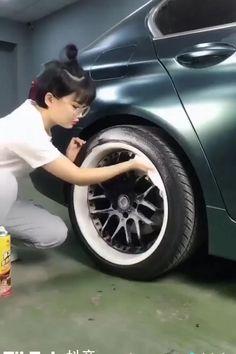 Car Cleaning Hacks, Car Hacks, Auto Gif, Carros Vw, Bmw Autos, Car Decals, Cool Car Stickers, Car Gadgets, Vw Touran