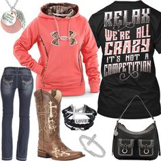 Relax We're All Crazy Outfit - Real Country Ladies