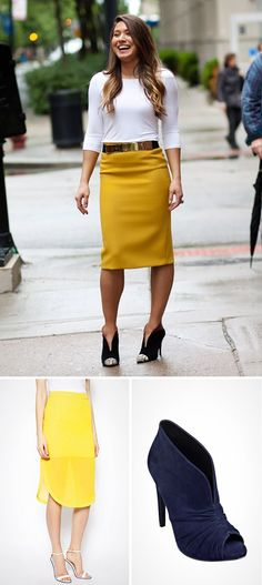 18 Ways to Pair Boots With Skirts via Brit + Co.