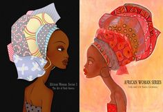 African Woman Art The african woman - muse origins