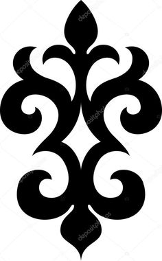Quilting Stencils, Stencil Patterns, Stencil Designs, Stencil Templates, Hand Embroidery Designs, Diy Embroidery, Motifs Islamiques, Paper Beads Template, Boarder Designs