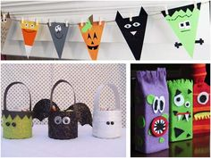 Looking for some easy Halloween crafts that your kids can do? This Halloween, we've rounded up 10 fun crafts that are more silly than spooky. They're just the thing for you littlest trick-or-treaters! Try these at home: Friendly Little Monsters made from upcycled paper towel and toilet paper rolls. Imagine the look on your kids …