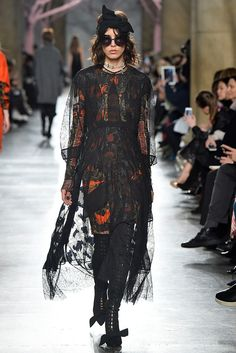 Edgy Meets Glam at the Preen Runway Show via @WhoWhatWearUK