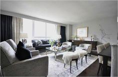 merideth heron recliners in living room