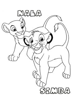 Lion King Coloring Pages | Lions, Disney colors and Stenciling
