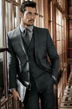No one rocks a three piece suit like David Gandy or the fictional counterpart Gideon Cross.