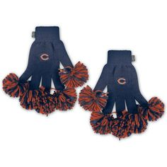 Amazon.com  NFL Chicago Bears Spirit Fingerz  Sports   Outdoors a68ff9955
