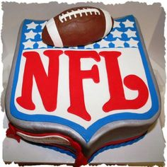 A guys dream. An NFL football cake