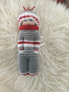Knitted Baby, Knitted Dolls, Baby Knitting, Knit Crochet, Lana, Bears, Knitting Patterns, Kittens, Toys
