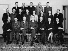Members of the Alberta Association of Architects at their 1948 AGM, including these women: second row, from left, Margaret Findlay, Mary Imrie, Doris Tanner front row, Jean Wallbridge