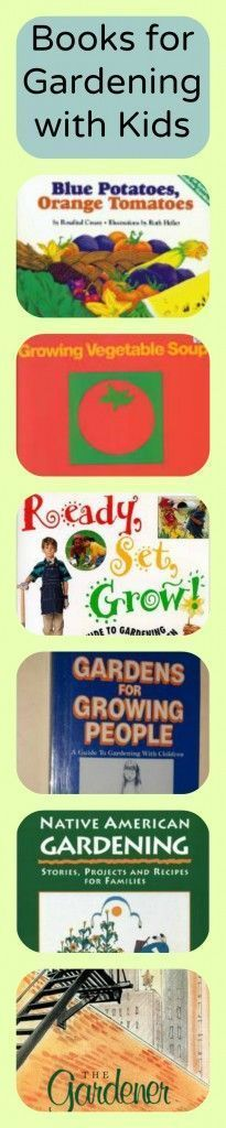 """"""" Six Favorite Books for Gardening with Kids⋆ Waldorf-Inspired Learning Blue Potatoes, Pumpkin Vegetable, The Paper Bag, Inspired Learning, Hands On Activities, Preschool Activities, Nature Study, Inspiration For Kids, Summer Kids"""