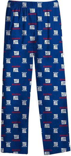 7e757de10 NFL Team Apparel Youth New York Giants Team Print Royal Jersey Pants